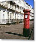 Red Postbox Metal Print