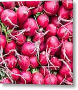Red Radishes  Metal Print