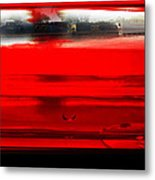Red Rails Metal Print