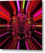 Red Ray Metal Print