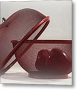 Red Red Apples Metal Print