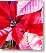 Red Red Christmas Metal Print