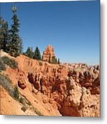 Red Red Rocks Metal Print