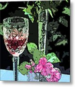 Red Red Wine Metal Print