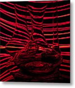 Red Rhythm IIi Metal Print