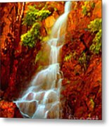 Red River Falls  Metal Print