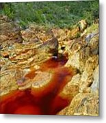 Red River Huelva Metal Print