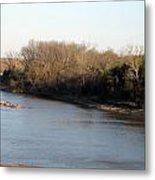 Red River Looking East Metal Print
