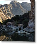Red Rock Metal Print by Bobbi Bennett