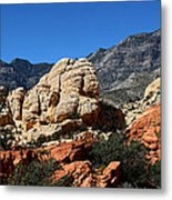 Red Rock Canyon 2 Metal Print