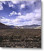 Red Rock Canyon Nevada Metal Print