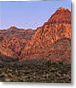 Red Rock Canyon Pano Metal Print by Jane Rix
