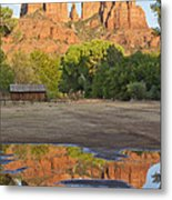 Red Rock Crossing Metal Print by Ruth Jolly