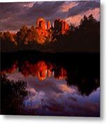 Red Rock Crossing Sedona Metal Print