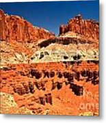 Red Rock Ridges Metal Print