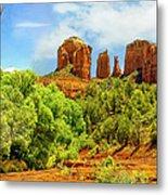 Red Rock State Park Sedona Arizona Metal Print