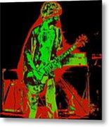 Red Rocker In Spokane In 1977 With Space Friends Metal Print