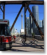Red Rocket 10 Metal Print