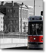 Red Rocket 14c Metal Print