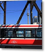 Red Rocket 8 Metal Print
