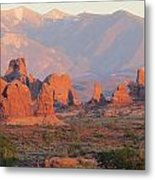 Red Rocks In Arches National Park Metal Print