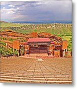 Red Rocks Park Amphitheater - Centered View Metal Print