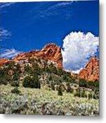 Red Rocks In Colorado Metal Print