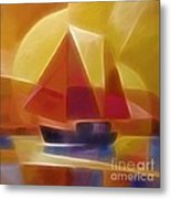Red Sails Metal Print by Lutz Baar