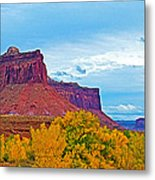 Red Sandstone Formations Going Into Needles District Of Canyonlands National Park-utah Metal Print