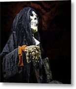 Red Skys At Night Pirates Delight Metal Print