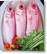 Red Snappers Metal Print