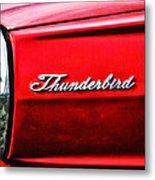 Red Thunderbird Metal Print
