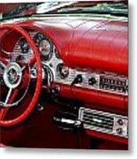 Red Thunderbird Dash Metal Print