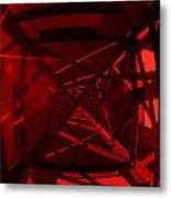 Red Tower Metal Print