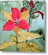 Red Trillium Metal Print