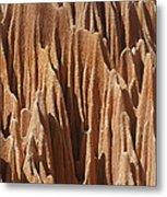 red Tsingy Madagascar 5 Metal Print