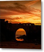 Red Twilight I Metal Print