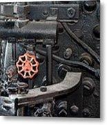 Red Valve S P R R 1673 Metal Print