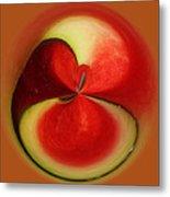 Red Watermelon Metal Print