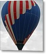 Red White And Balloon 2 Metal Print
