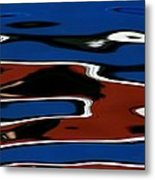 Red White And Blue IIi Metal Print by Heidi Piccerelli