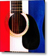 Red White And Blues Metal Print