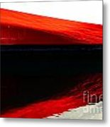 Redblackred Metal Print