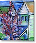 Redbud Tree At West Cape May Metal Print