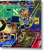 Redemption Prayer 14 Zf Metal Print