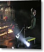 Red's Lead Singer Can Fly Metal Print