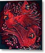 Reds Metal Print