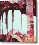 Redsaga 3 Metal Print