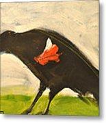 Redwing Muses Metal Print