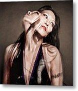Ree Ja Soul Metal Print by Gary Heller